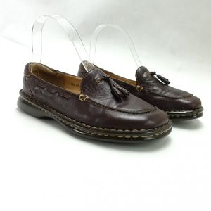 Born Women's Shoes Tassel Loafers Kiltie Leather M